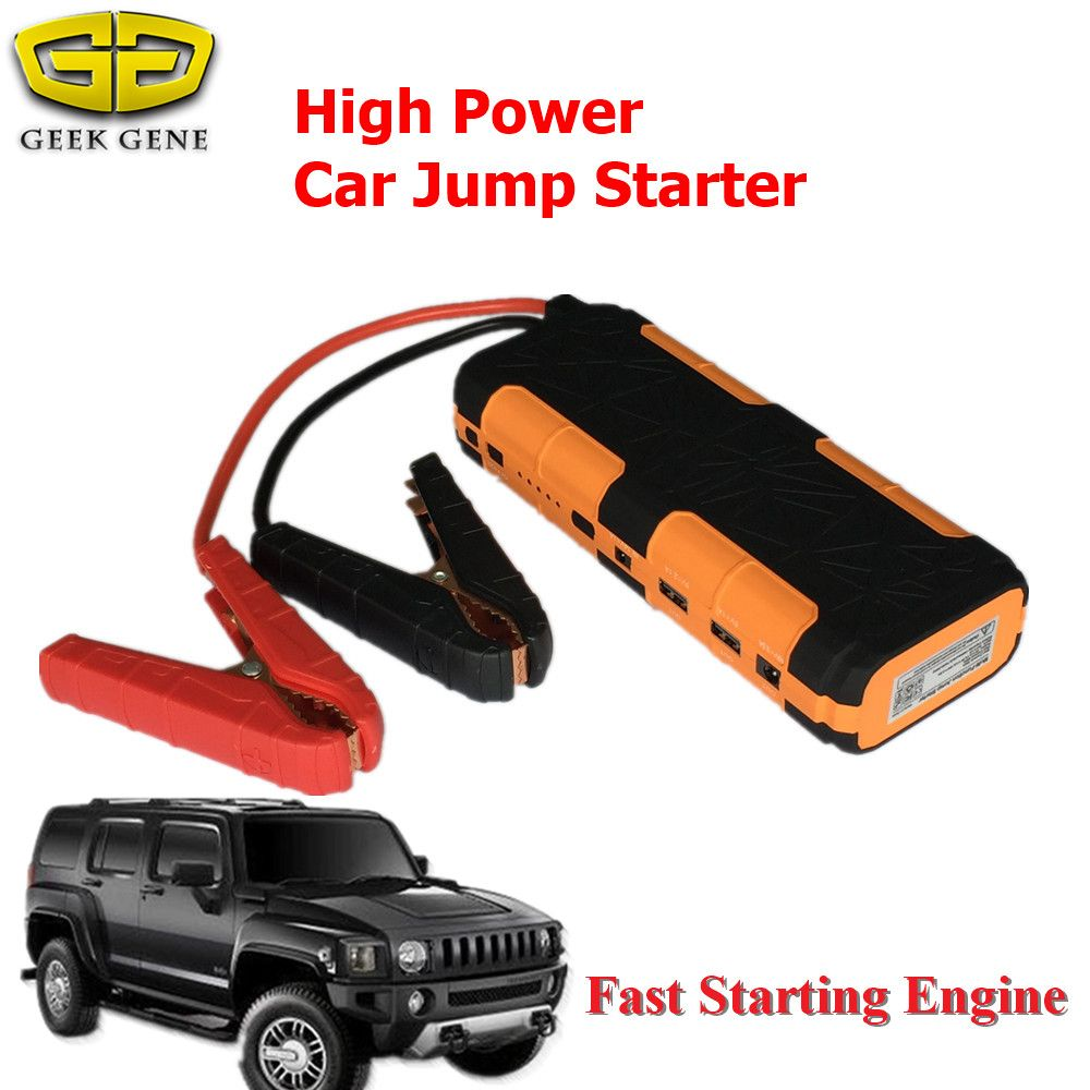 Portable Starting Device 15000mah Car Jump Starter Professional Charger For Car Battery Mini 2usb Power Bank Sos Light F Cool Things To Buy Car Charger