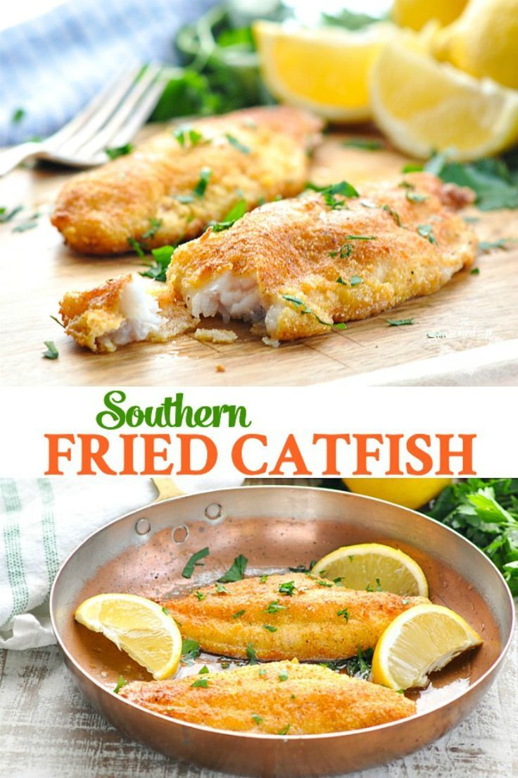 Crispy Southern Fried Catfish Recipe Catfish recipes