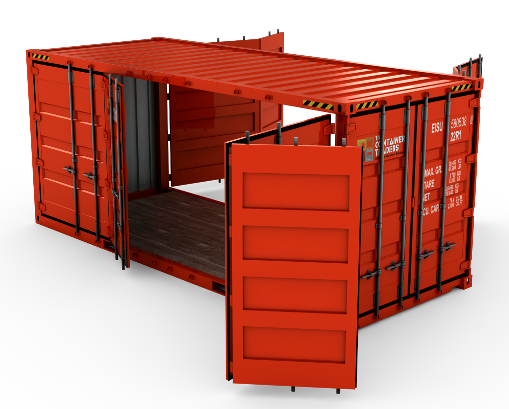 Http Contraders Com Wp Content Uploads 2012 07 Customcontainers 0001 Doubleopenside Png 9d7bd4 Maison Container Maison Mobilier Compact