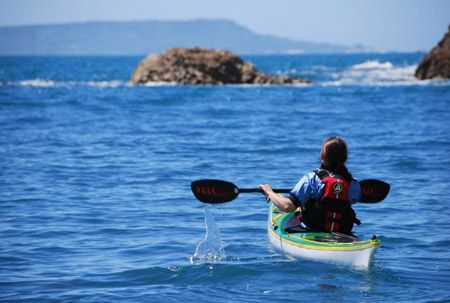 six UK sea kayak destinations