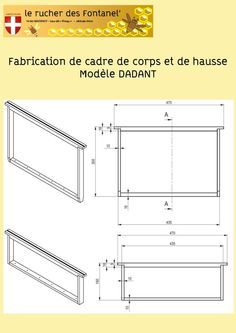 #RUCHE Fabrication de cadre Dadant