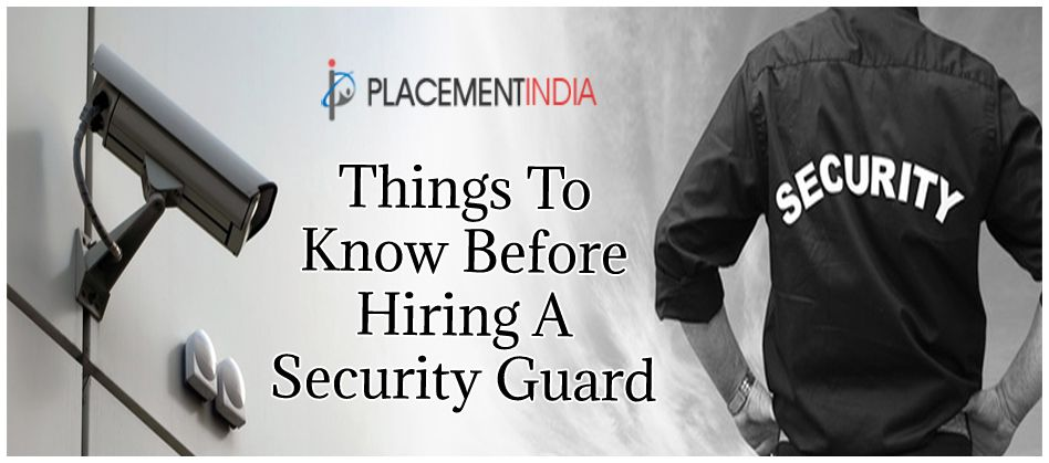 A security guard is a person who takes complete