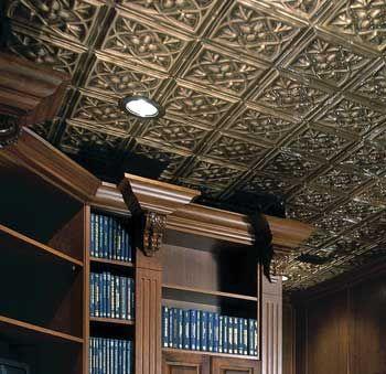 I love tin ceiling tile.