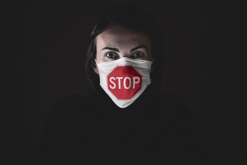 Park Art|My WordPress Blog_Stop Do Not Enter Without Mask