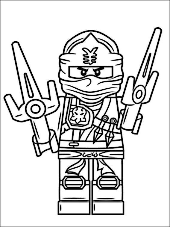 Lego Ninjago Tegninger til Farvel gning