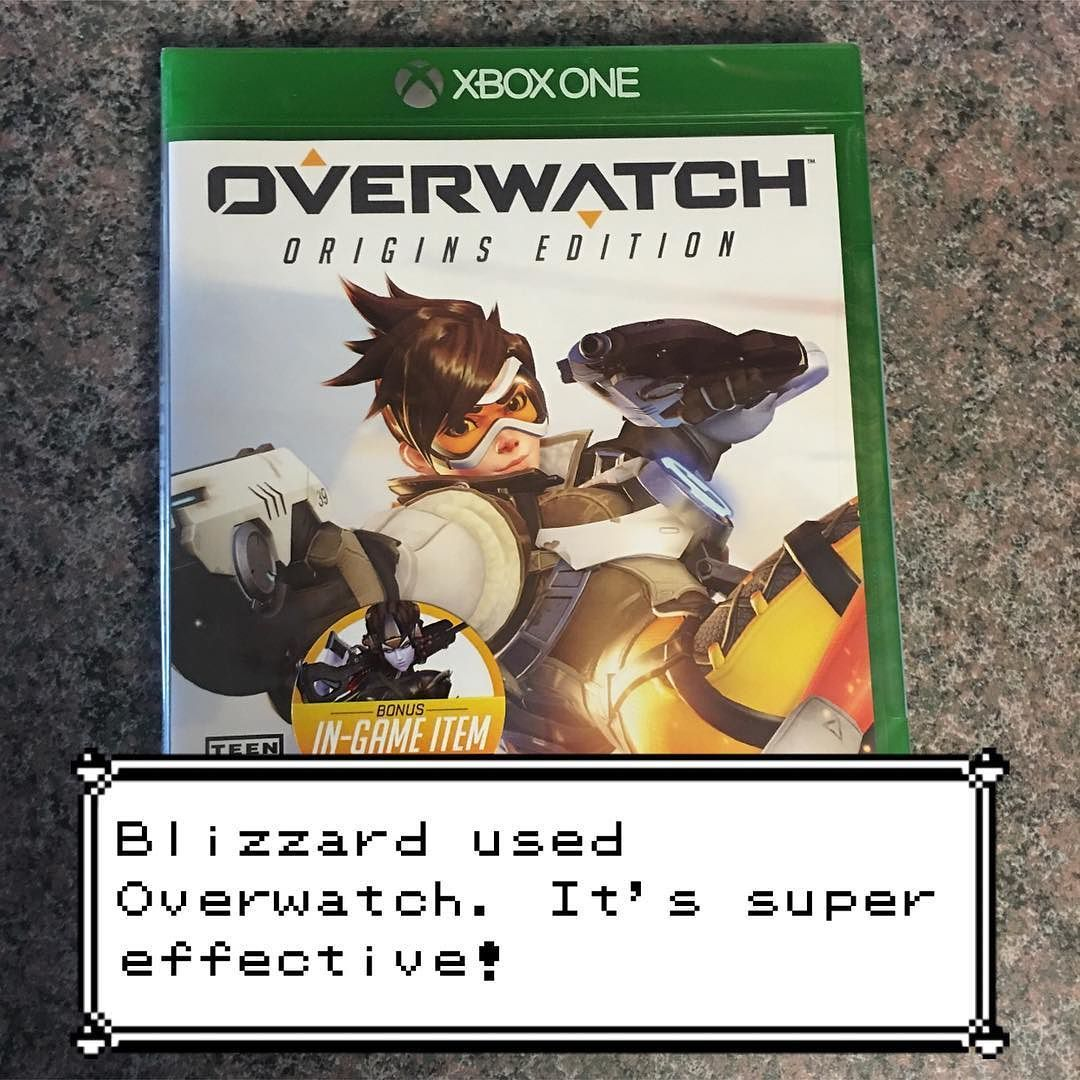 Blizzard used Overwatch! It's super effective