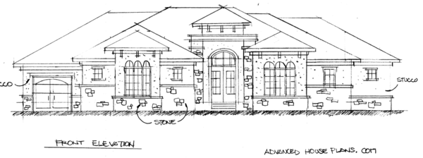 Great Concept Sketches, In Progress Shots, And Eventually Finished Photos Of Advanced  House Plans