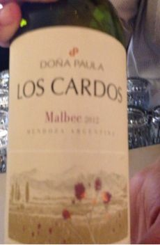 Typically not a big fan of Malbec; I enjoyed this one.