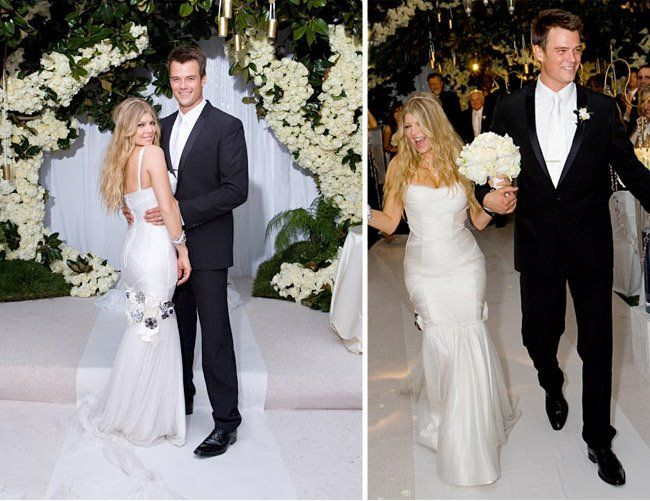 Celeb Wedding Inspiration Fergie Josh Duhamel