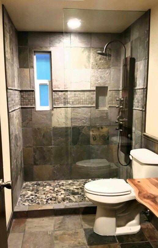 Small Bathroom Remodeled  Bathroom Ideas  Pinterest  Small Mesmerizing Bathroom Remodeled 2018
