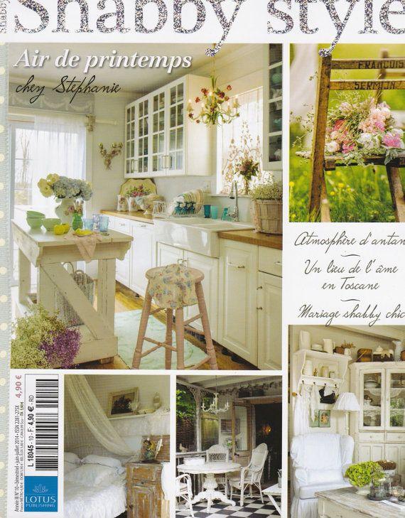 magazine maison et dco shabby style june july home and decoration shabby style show shabby style home and decoration
