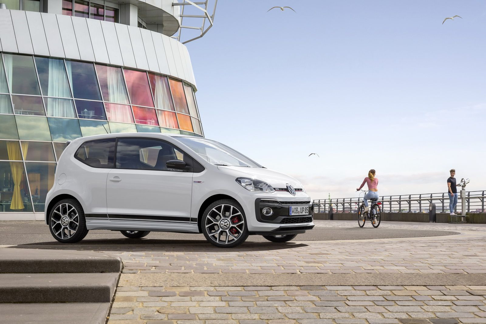Vw S Smallest Hot Hatch The New Up Gti Goes On Sale In Germany