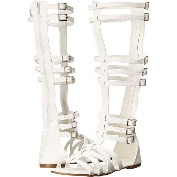 C Label Hercules-2 (White) Women's Sandals (1,745 INR) ❤ liked