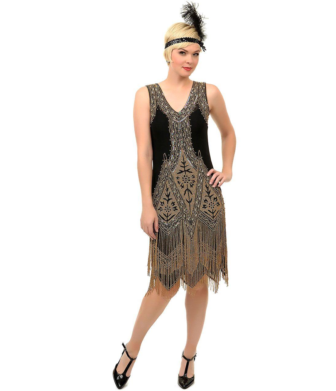 100   Great Gatsby Prom Dresses for Sale | 1920s, Черное золото ...