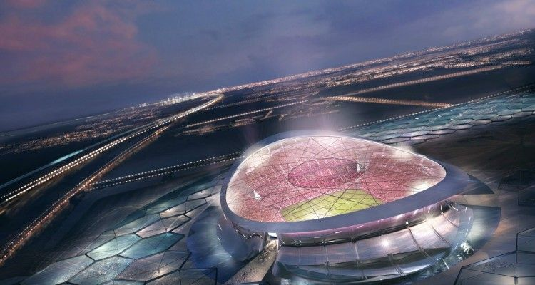 Qatar Fifa World Cup 2022 Stadium Foster And Partners Arch2o Com World Cup Stadiums Qatar Stadium World Cup 2022