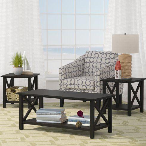 Ruthwynn 3 Piece Coffee Table Set Cheap Living Room Sets 3 Piece Coffee Table Set Black Coffee Tables