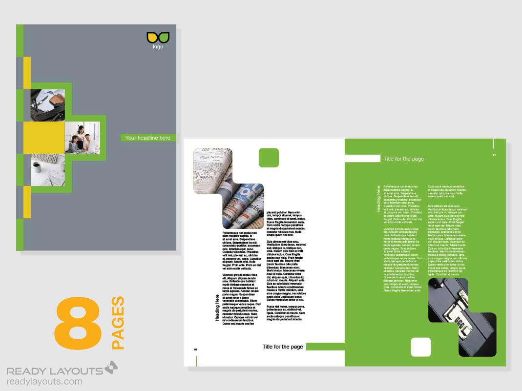 Awesome Marketing Brochure Templates Set Marketing Brochure - Marketing brochures templates