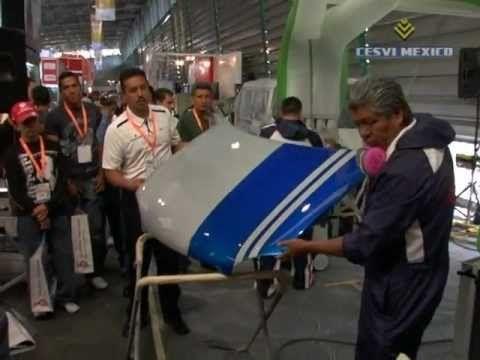 Expo Reparación Automotriz 2011 ZONA DEMO: DuPont Cromax Pro 1a. Parte