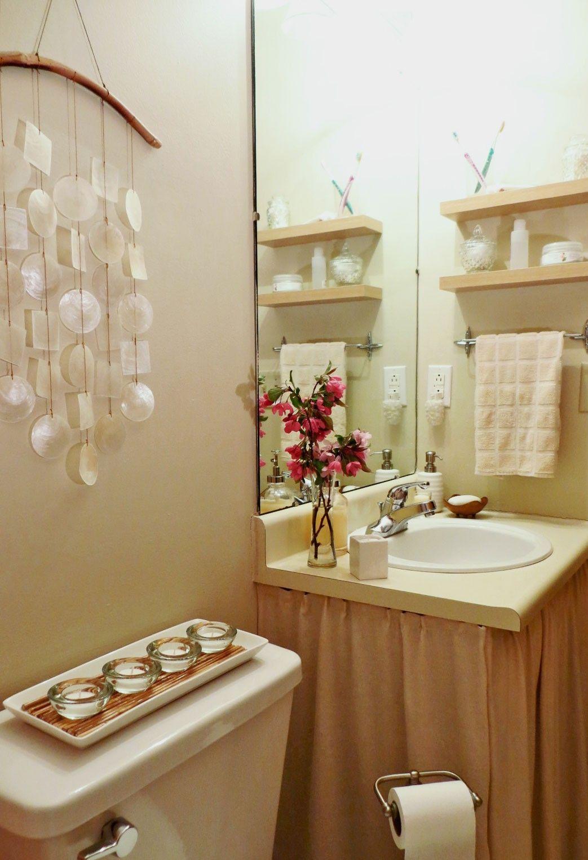Apartment Budget Bathroom Makeover Asian Decor Batik Pink Fuchsia Prepossessing Bathroom Makeover Contest Inspiration