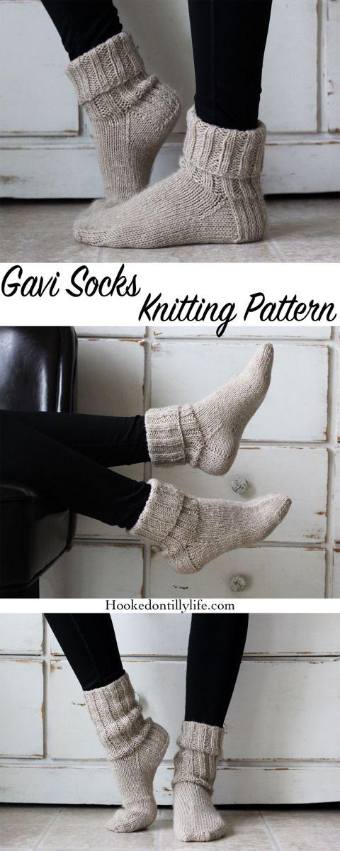 Gavi Socks Knitting Pattern — Hooked On Tilly
