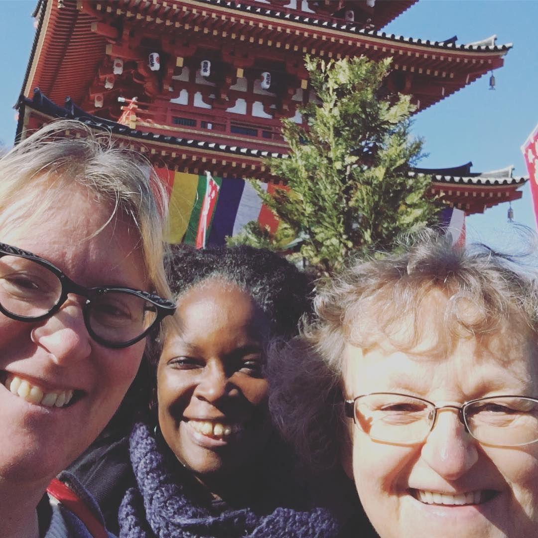 "lauren shannon on Instagram: ""Sunshine and #pagodas in Tokyo yesterday #adventureswithmom"""