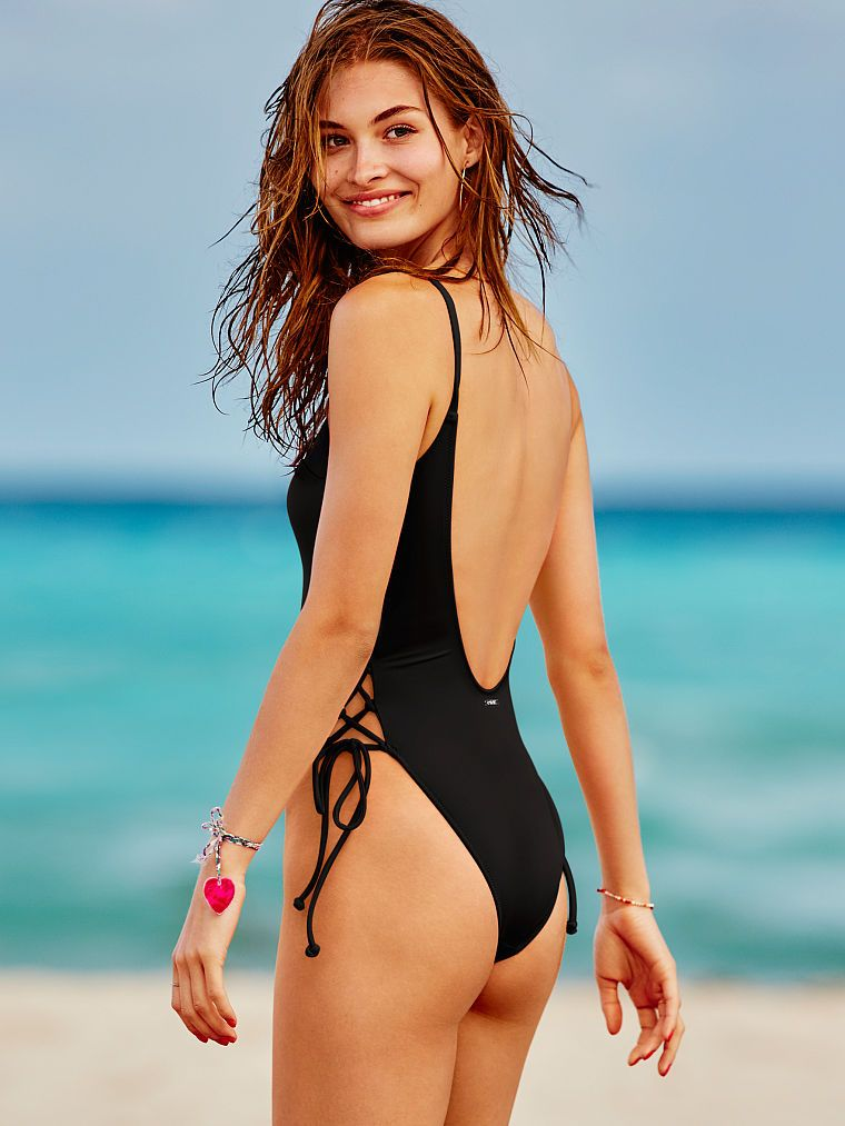 Lace Up Side One Piece One Piece Swimsuits Hot Swimsuits
