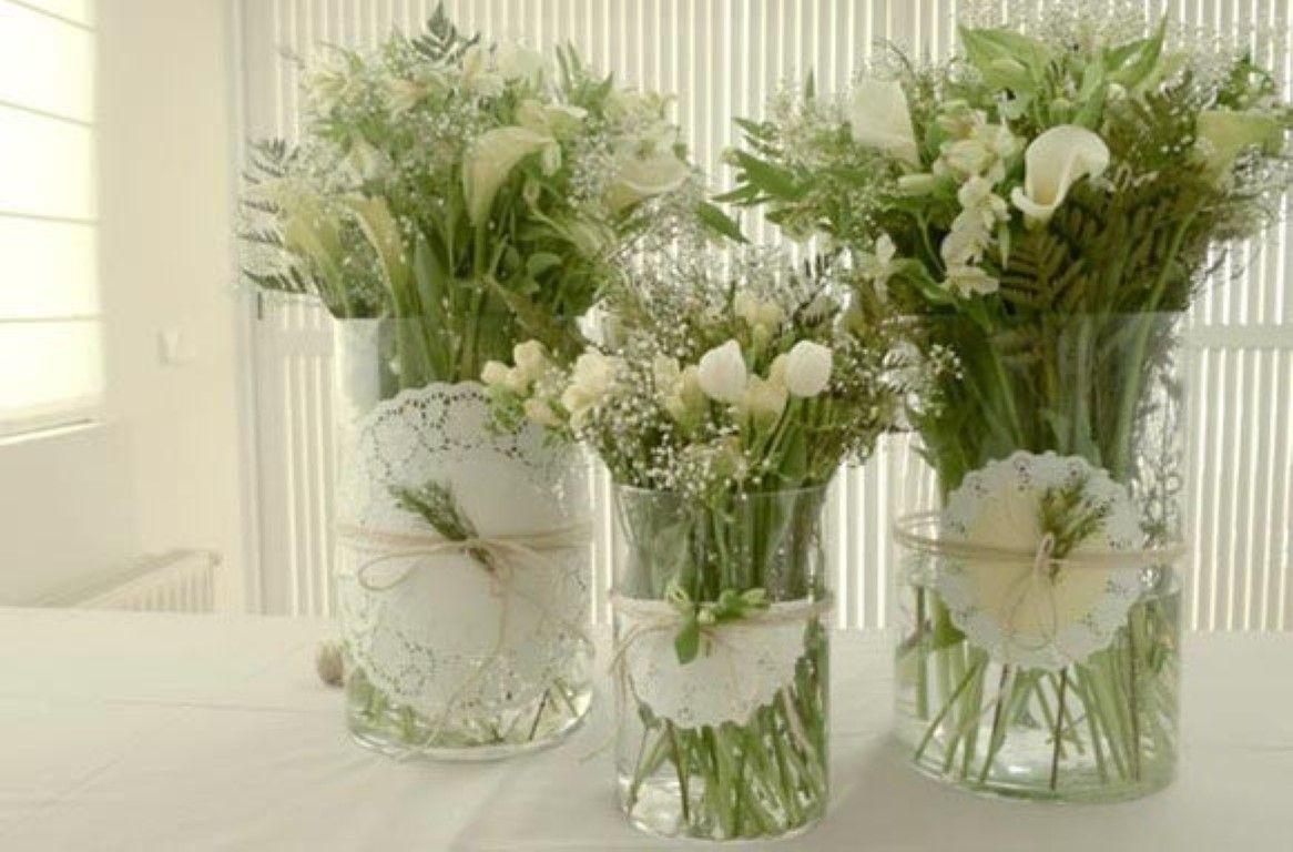 Flores Na Mesa Com Imagens Decoracao Arranjos De Mesa Comunhao