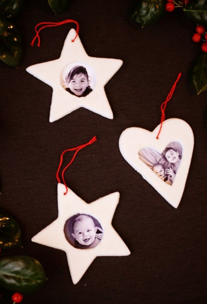 How To Make Salt Dough Picture Frame Ornaments Christmas Crafts To Make Diy Christmas Ornaments Picture Frame Ornaments