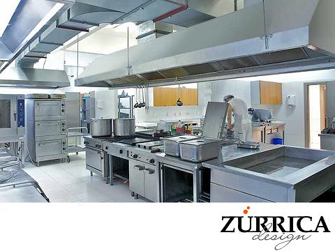 Las mejores cocinas industriales el humo generado en la - Extraccion de humos y ventilacion de cocinas ...