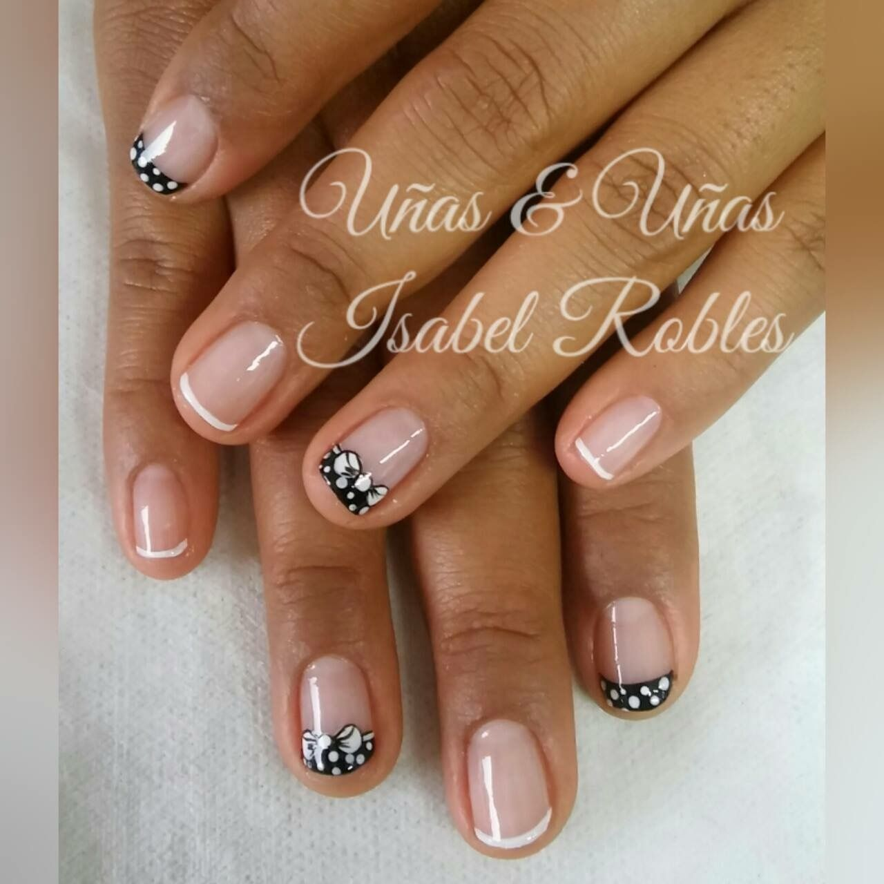 Pin by Vane on Uñas | Pinterest | French nails