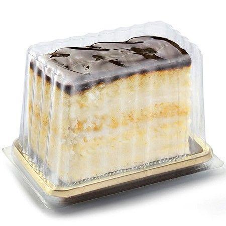 Medoro Mini Cake Slice Pastry Trays Disposable Alc Cake Slice Cake Slice Packaging Mini Cakes