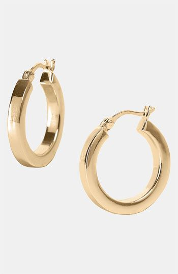 Argento Vivo Small Hoop Earrings Nordstrom Exclusive