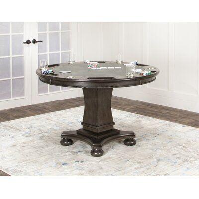 Canora Grey 48 L Oroville Reversible Flip Top Poker Table Poker