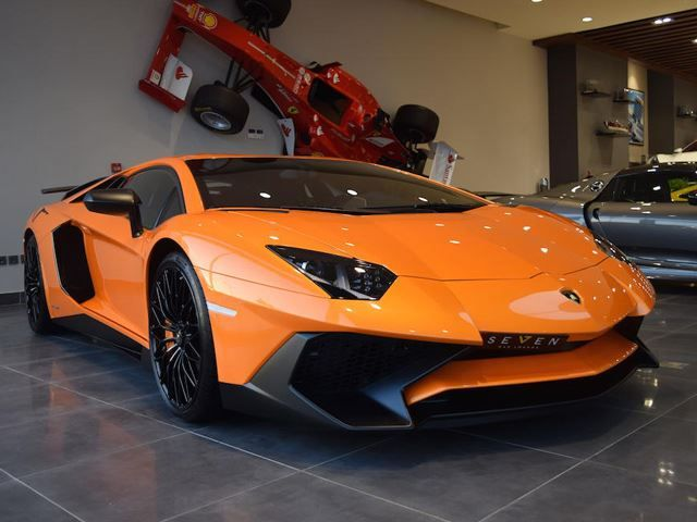A Aventador SV Is ALREADY Up For Sale