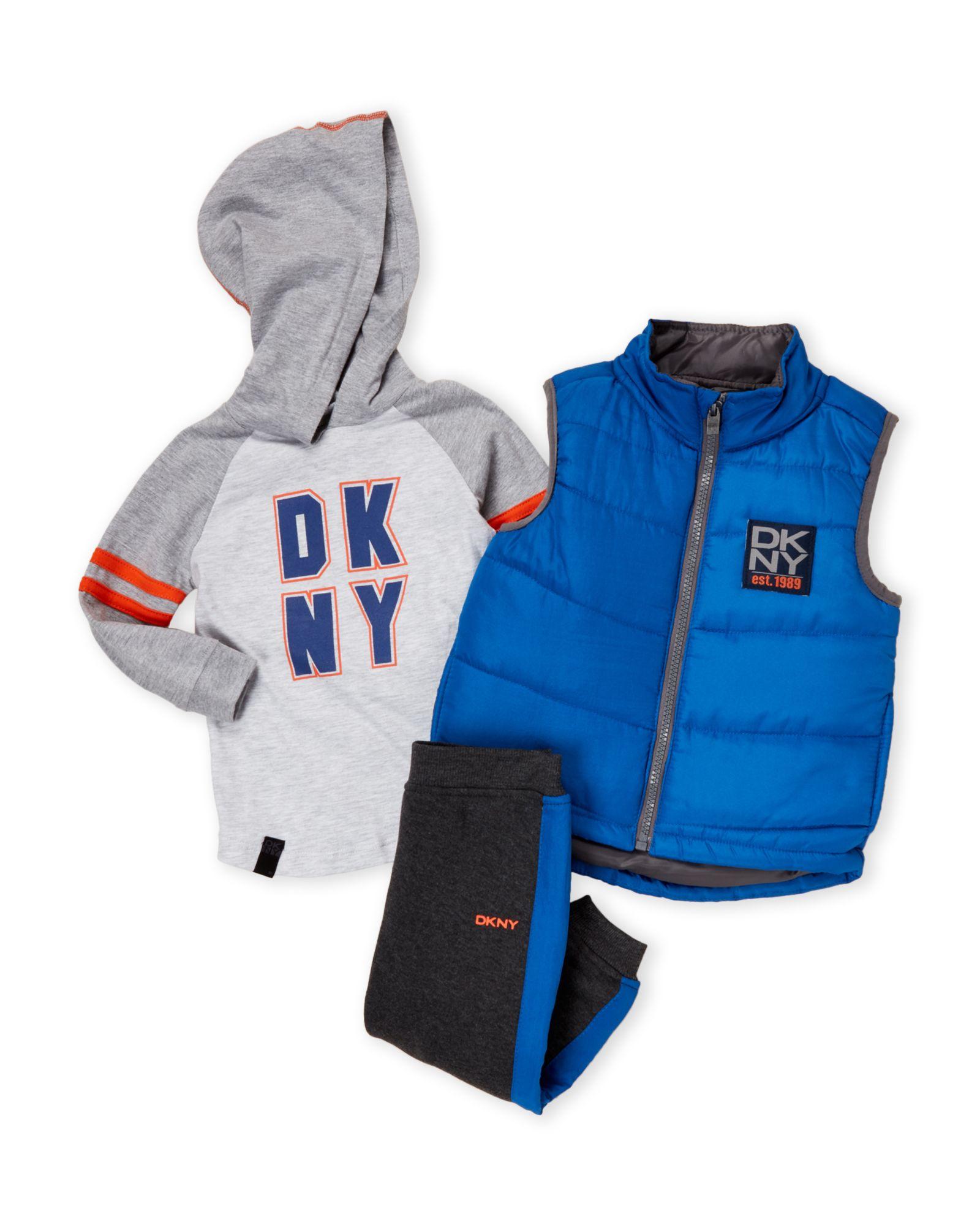 d8cb4f9b7 Infant Boys) 3-Piece Puffer Vest   Joggers Set