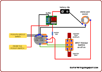The Guitar Wiring Blog Diagrams And Tips Active Electronic Circuit Projects Guitar Circuit Projects