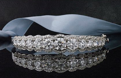 An 11 carat Bellataire Diamond Bangle!