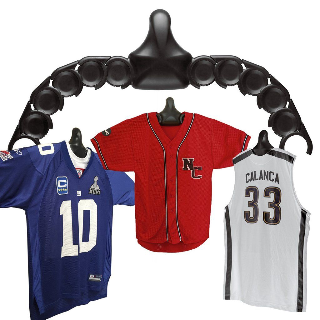 The Patented Adjustable Jersey Display in 2020 Wall