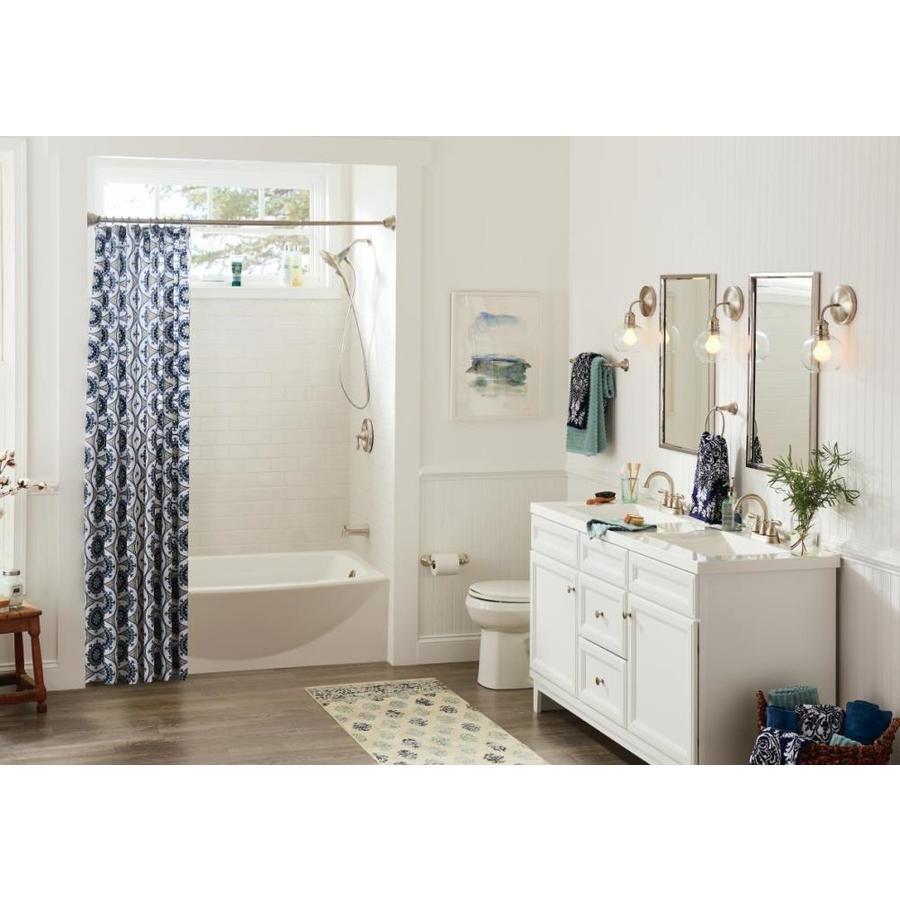 diamond freshfit calhoun 60 in white bathroom vanity on lowes vanity id=61089