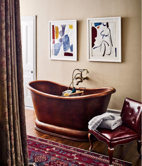 Inside Jessica Chastain's New York City Apartment