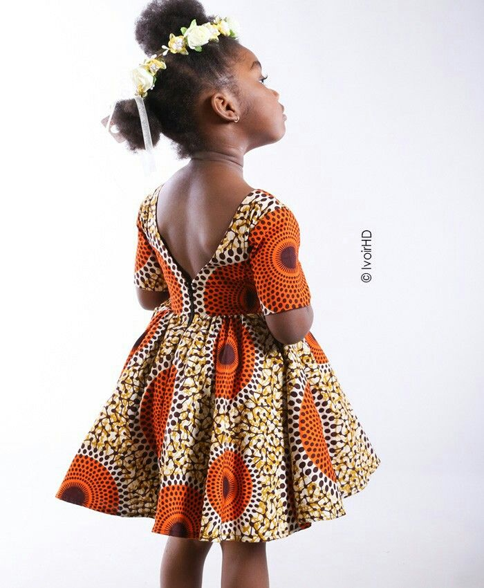 Mademoiselle Ble Habille Les Petites Filles Kids Fashion Dress African Dresses For Kids Kids Fashion