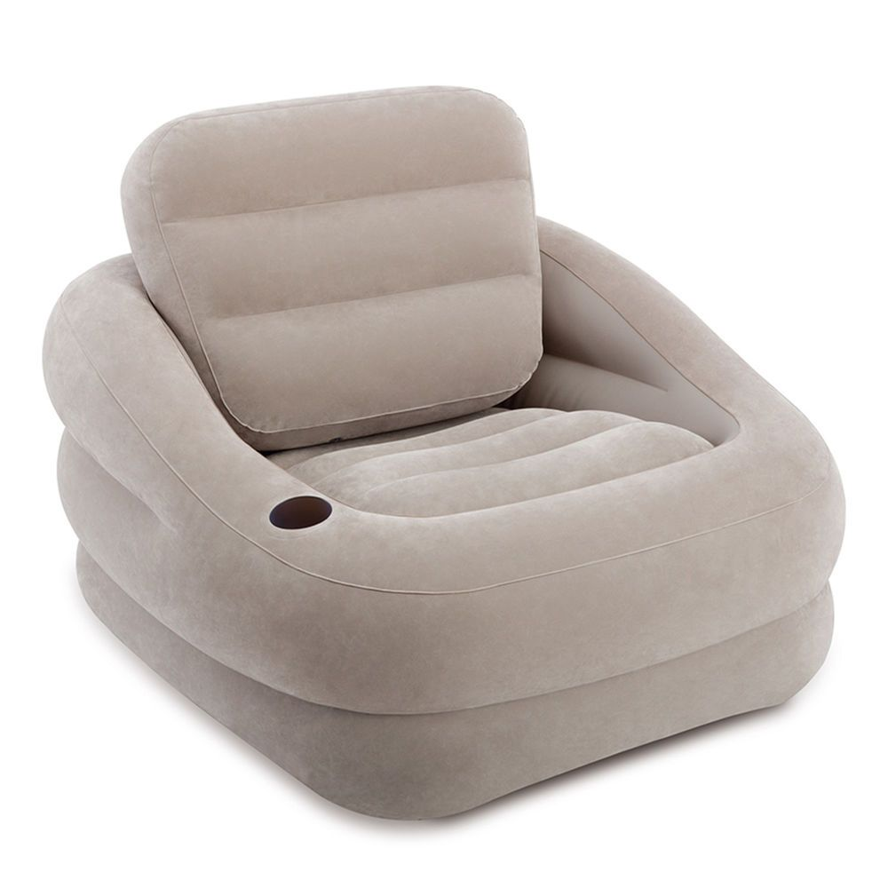 Khaki Accent Chair Near Me: Details About Intex Inflatable 68587EP Accent Chair With