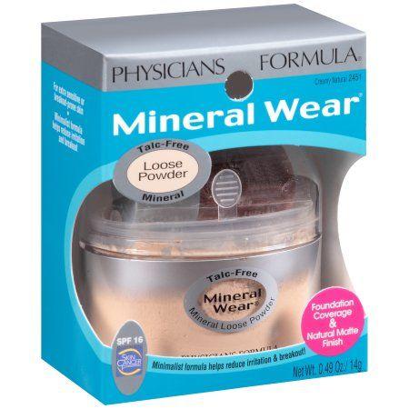 Physicians Formula Mineral Wear? Creamy Natural Mineral Loose Powder SPF 16 .49 oz. Jar, Beige