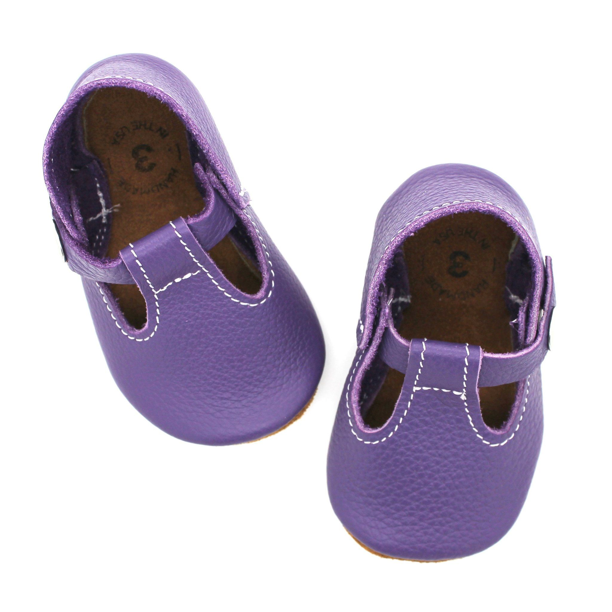 the original soft soled t strap shoes for kids perfect purple