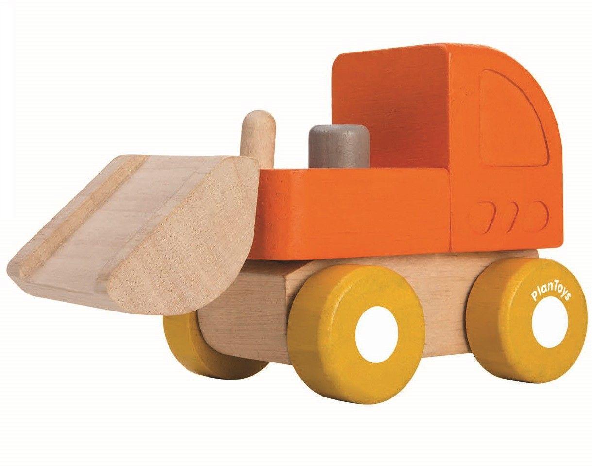 plan toys mini bulldozer   lincoln list   plan toys, toys, mini