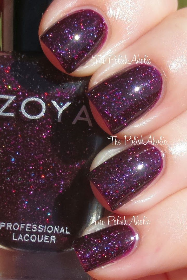 fdeff5db6 Swapped, Daphne. Zoya- Payton. Swatched on lid.   Zoya Nail Polish ...