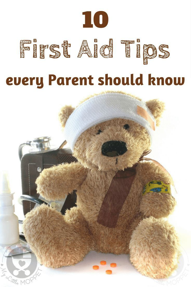 10 First Aid Tips Every Parent Should Know