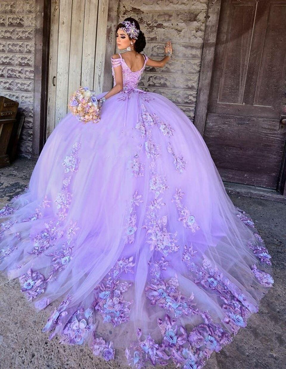 44++ Purple sweet 16 dresses ideas ideas in 2021