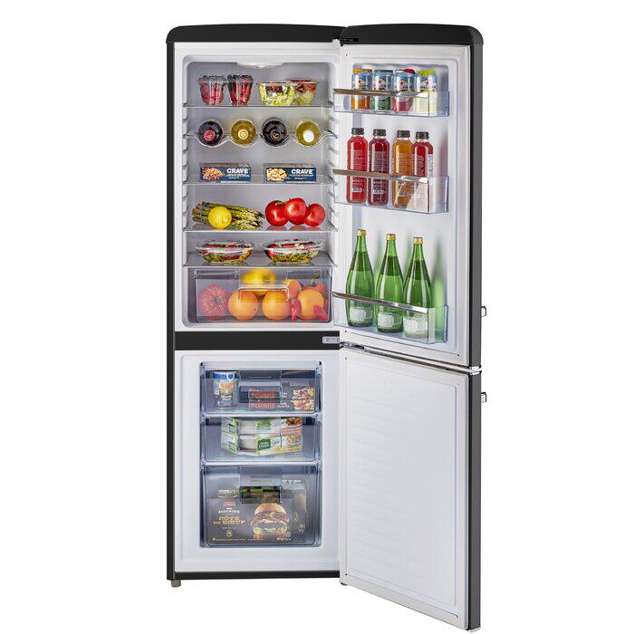 Classic Retro 22 Bottom Freezer Energy Star 7 Cu Ft Refrigerator Bottom Freezer Compact Refrigerator Refrigerator