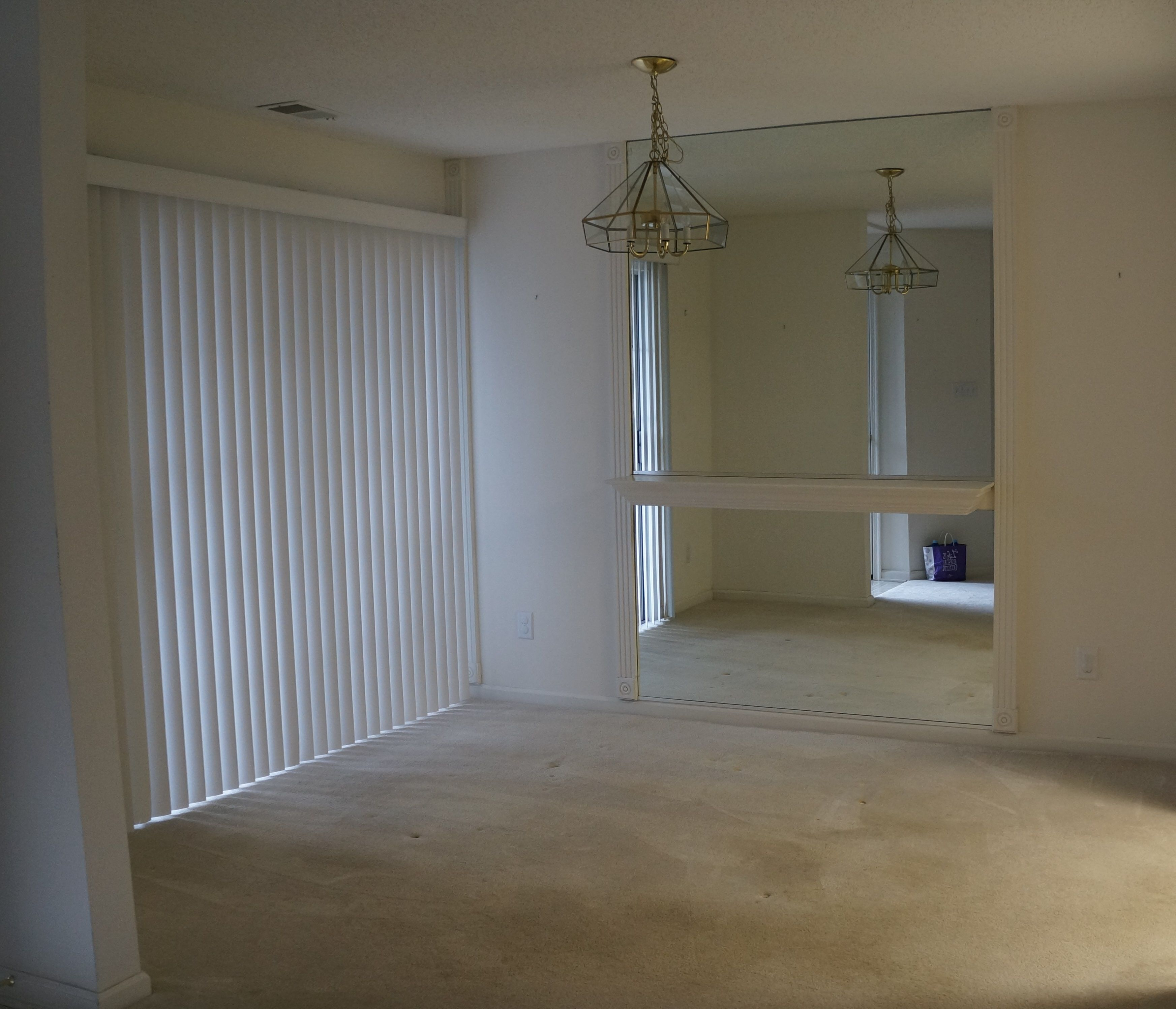 The Spacious Dining Room Is 9x11 With Sliding Glass Doors Leading Out To  The Private Patio